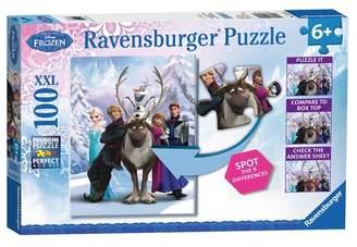 Ravensburger Disney Frozen: Differences Puzzle - 100 Pieces
