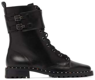 Sophia Webster Bessie Studded Leather Ankle Boots - Womens - Black