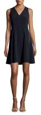 T Tahari Annalise Fit-&-Flare Dress