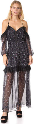 Stevie May Storm on the Sea Maxi Dress
