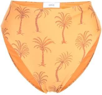 Onia Sabrina high leg bikini bottoms