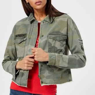Superdry Women's Crop Utility Jacket