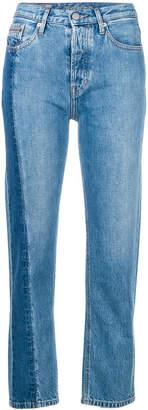 Calvin Klein Jeans high rise straight jeans