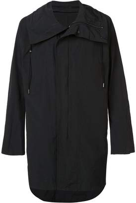 Niløs drawstring collar coat