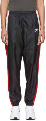 Nike Black and Red NSW Re-Issue Track Pants