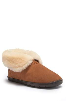 Western Chief Tundra Genuine Shearling Lined Slipper (Men)