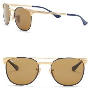 Ray-Ban Metal 47mm Polarized Sunglasses (Little Kid)