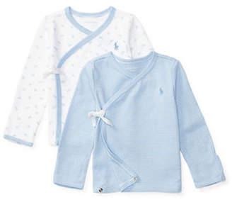 Ralph Lauren Two-Pack Cotton Kimono Top