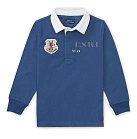 Polo Ralph Lauren Cotton Jersey Rugby Shirt(S-Xl)