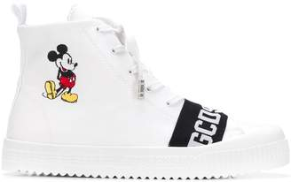 GCDS Mickey Mouse sneakers