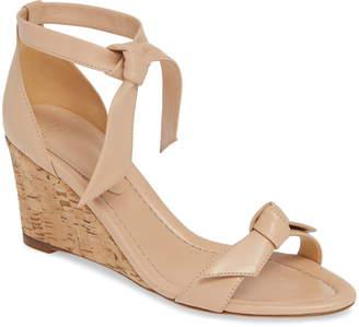 Alexandre Birman Clarita Cork Wedge Sandal