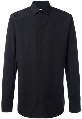 Givenchy embroidered collar shirt