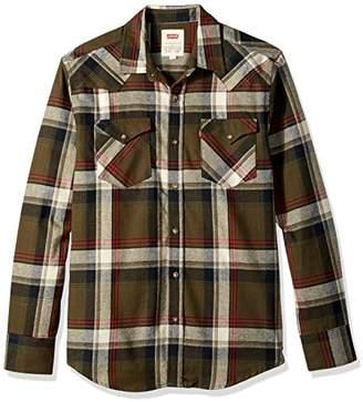 Levi's Men's Sway Plaid Shirt