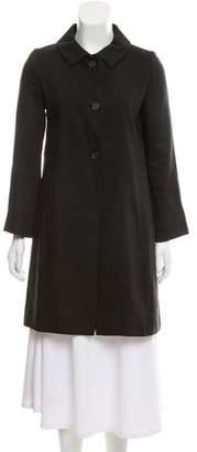 Chloé Button-Up Knee-Length Coat