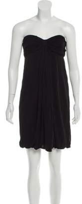 Marc Jacobs Strapless Gathered Dress Black Strapless Gathered Dress