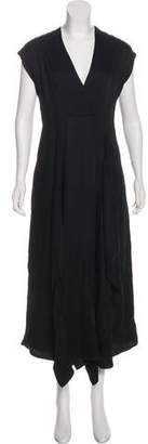 Zero Maria Cornejo Linen Drape Dress w/ Tags