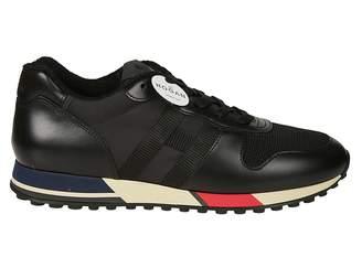 Hogan Contrast Sole Sneakers