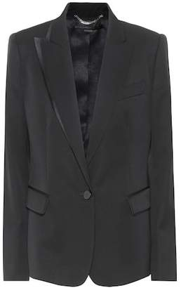 Stella McCartney Wool tuxedo jacket