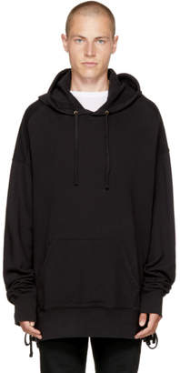 Faith Connexion Black Laced Hoodie