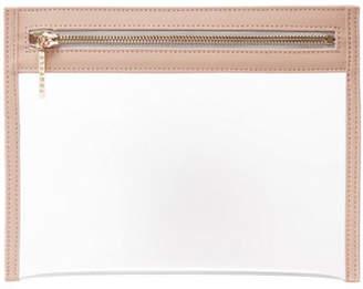 Truffle Clarity Clutch Bag, Small