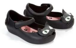 Mini Melissa Baby Girl's & Little Girl's Ultragirl Cat Mary Jane Flats