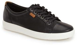 Women's Ecco 'Soft 7' Cap Toe Sneaker $149.95 thestylecure.com