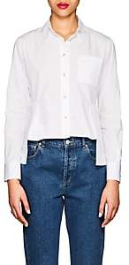 Giorgio Armani Women's Cotton Poplin Blouse - White