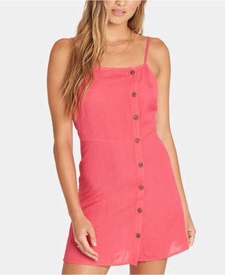 Billabong Juniors' Button-Front Mini Dress