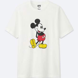 Uniqlo Mickey Stands Short-sleeve Graphic T-Shirt
