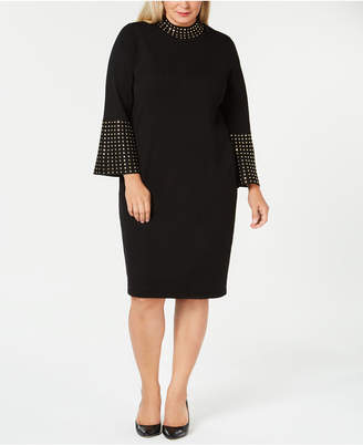 Calvin Klein Plus Size Studded Sheath Dress