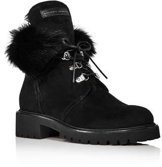 Giuseppe Zanotti Women's Shearling-Lined Boots