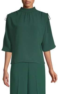 BOSS Ruched Shoulder Tee