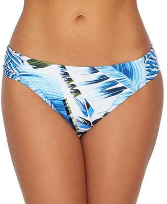 La Blanca Two Cool Side Shirred Bikini Bottom