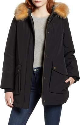 Pendleton Dawson Genuine Fur Trim Down Coat