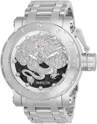 Invicta Men's Coalition Forces Steel Bracelet & Case Automatic Watch 26510