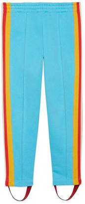 Gucci Children's jersey stirrup legging