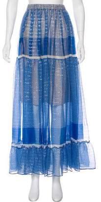 Stella McCartney Metallic Maxi Skirt
