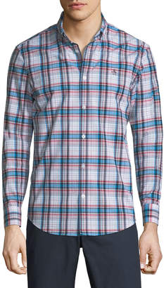 Original Penguin Button-Down Plaid Shirt