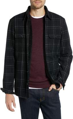 1901 Plaid Fleece Lined Shirt Jacket