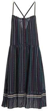 Rag & Bone Austin Stripe Silk Dress