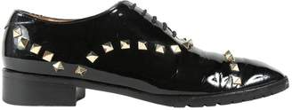 Valentino Patent leather lace ups