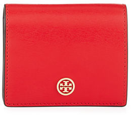 Tory Burch Tory Burch Parker Leather Foldable Mini Wallet
