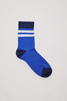 Cos SHEER STRIPED SOCKS