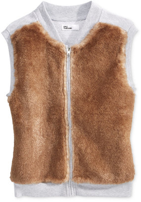 Epic Threads Girls' Faux Fur Vest, Only at Macy's $34 thestylecure.com