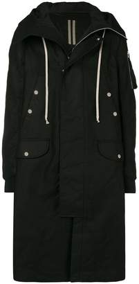 Rick Owens long length parka