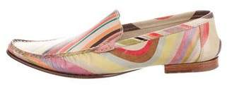 Paul Smith Pointed-Toe Leather Loafers