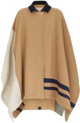 Chloé Graphic Cape