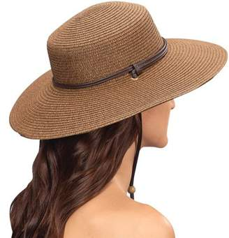 Sloggers 442DB01 Size 1 Dark Brown Wide Brim Braided Hat