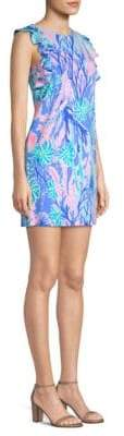Lilly Pulitzer Esmeralda Print Mini Dress