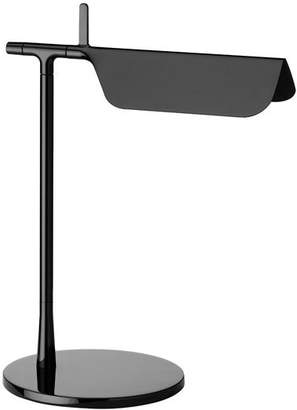 Flos Official Tab T Black Color Modern Table Lamp by E. Barber and J. Osgerby